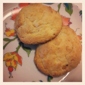 Lemon Apricot Scones